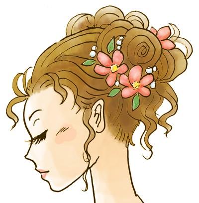 浴衣に合うショートヘアでもできる髪型とは