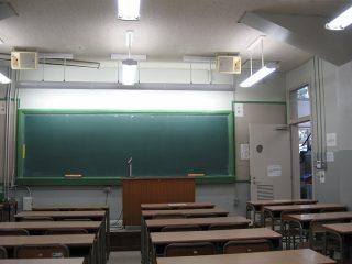 試験前の自習室