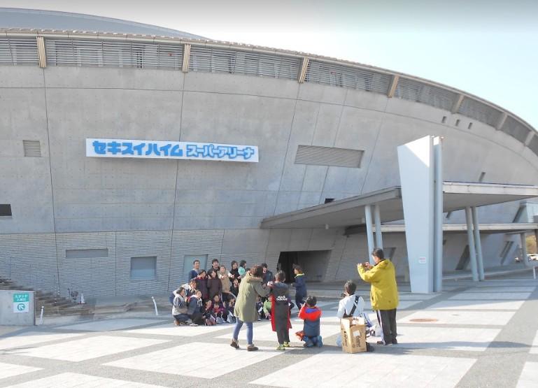 セキスイハイムスーパーアリーナ(仙台)へのアクセスとホテル