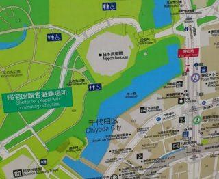 日本武道館への歩く道